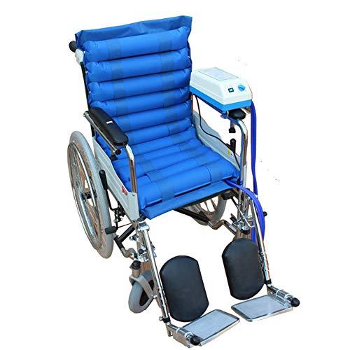 Medizinische Luftaufblasbares Seat Kissen mit Pumpensystem, Rollstuhlluft abwechselnd Pad/Overlay, Anti-Hip-Tabubitus-Tabue Prevent Bedsore für langzeitbewegliche Menschen -