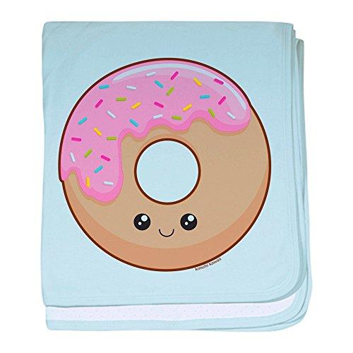 CafePress–Donut. Baby Decke–Baby Decke, Super Weich Für Neugeborene Wickeldecke, baumwolle, himmelblau, Standard
