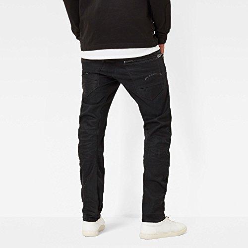 G-STAR RAW Arc Zip 3d Slim, Jeans Homme Noir (Hoist Black Denim In Medium Aged)