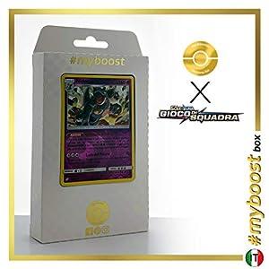 Nidoqueen 56/181 Holo Reverse - #myboost X Sole E Luna 9 Gioco di Squadra - Box de 10 Cartas Pokémon Italiano