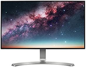 LG 23.8 inch Borderless LED Monitor - Full HD, IPS Panel with VGA, HDMI, Audio in/Out Ports and in-Built Speakers - 24MP88HV (Silver/White)