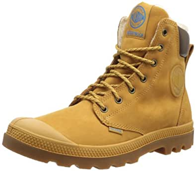 Palladium Pampa Sport Cuff WPS, chaussures bateau adulte mixte - Marron - Braun (Amber Gold/Mid Gum), 36 EU