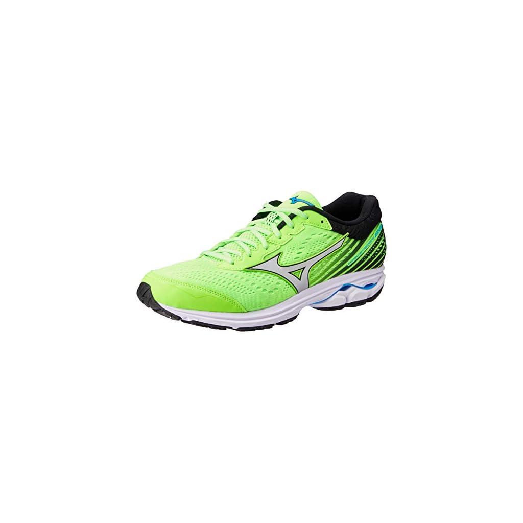 Mizuno WAVE RIDER 22, Women Running Shoes – Vert Pomme, 8 UK