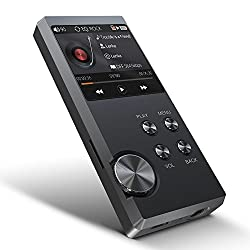 Hifi Mp3 Player, Lossless Music Player - Bassplay P3000 Portable Hifi Audio Player With Card Slot, Support Up To 128 Gb