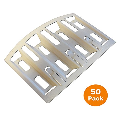 50 x Felt Lap Vents Prevents Loft roof Condensation. Attic Space Ventilation by Manthorpe