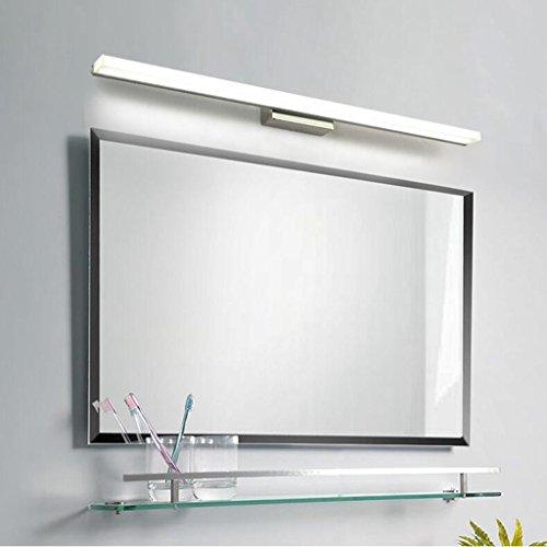 Lozse 14W LED Spiegelleuchte Schranklampe Wandleuchte Kaltweiß, Badezimmerlampe Badlampe Spiegel Wand Schminklicht 100cm -