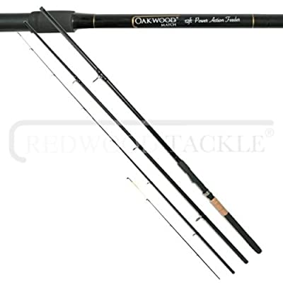 Oakwood Match/Carp Feeder/Quiver Fishing Rod 3PC 10ft + Spare Tip from oakwood
