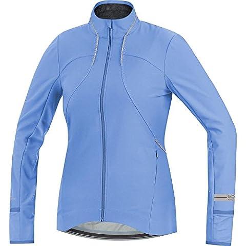 GORE RUNNING WEAR - Femme - Maillot à manches long -ues - thermique et coupe-vent - GORE WINDSTOPPER - AIR LADY WS SO - Taille 38 - Bleu Ciel -