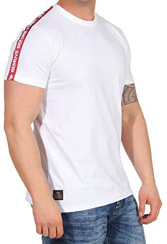 Alpha Industries RBF Tape T-Shirt Weiß XXL -