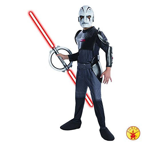 Star Wars Inquisitor Kostüm - Der Inquisitor StarWars Rebels Kostüm für Kinder, Größe:L