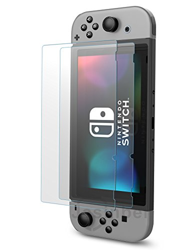[2 Pack] Jasinber Vidrio Templado Protector de Pantalla para Nintendo Switch 41 2Bp3eazLcL