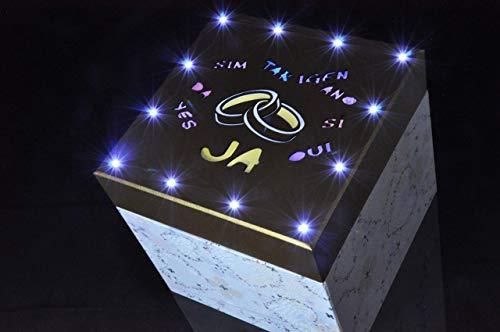 LiBoxx HOCHZEIT JA DE - NEUHEIT - die ultimative LED Geschenkbox