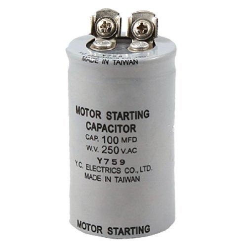 ABS Series 100MFD 100uF 250V AC Motor start condensator (250v Motor)