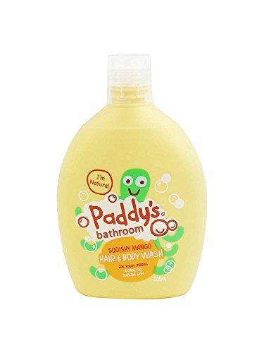 PADDY'S - Limpiador Corporal y Cabello Mango Para Niños - Perfecto Para la Piel Delicada - Con Aloe Vera - 200 ml
