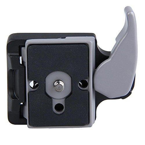 Adaptador de Pinza de Liberación Rápida con la Placa Compatible para Manfrotto 200PL-14