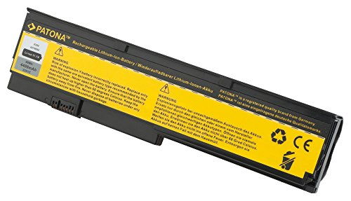 Batterie pour Laptop / Notebook IBM X200 | X 200 | X200s | X 200 s - [ Li-ion; 4400mAh; noir ]