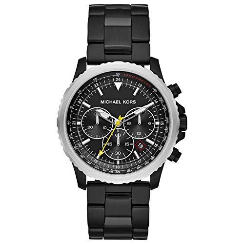 Michael Kors Orologio Cronografo Quarzo Uomo con Cinturino in Acciaio Inox MK8643