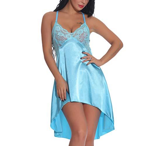 NNVNN Frauen Backless Schnürsenkel Camisole Romper Dessous Siamese Bodysuit Pyjamas Nachtwäsche Nachtkleid - Diesel Womens Unterwäsche
