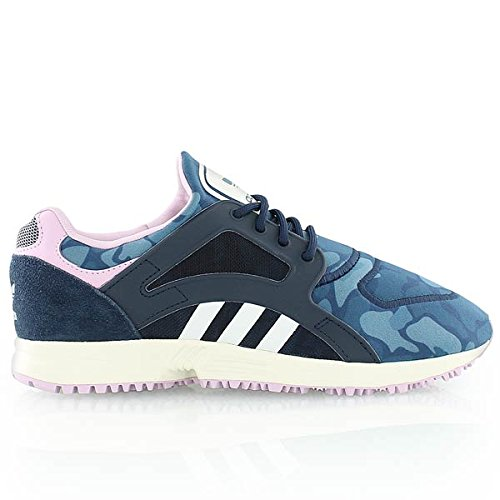 adidas Originals - Racer Lite, Sneakers, unisex, Blu marino (Navy/Weiß), 41