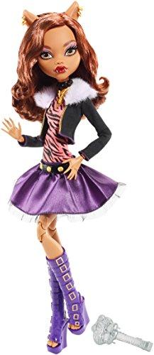 Monster High Frightfully Tall Ghouls Clawdeen Wolf Doll (Clawdeen Monster High Wolf)