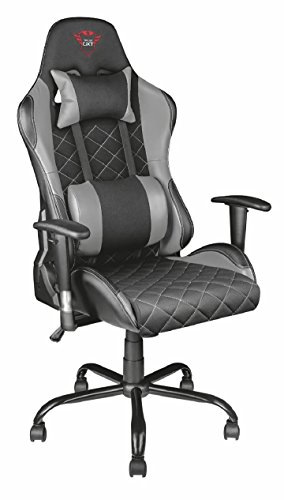 Trust Gaming 22525 GXT 707G Resto Gaming Chair, Black/Grey