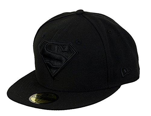 New Era DC Comics Basecap Superman Black