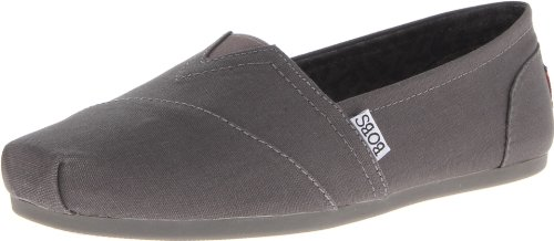 Bobs De Skechers Peluche Peace And Love Flat Anthracite