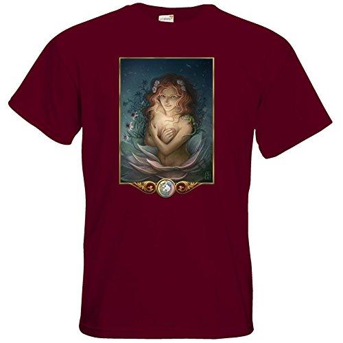 getshirts - Das Schwarze Auge - T-Shirt - Götter - Tsa Burgundy