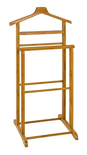 HAKU Möbel Herrendiener - aus massiv Bambusholz, Höhe 97 cm