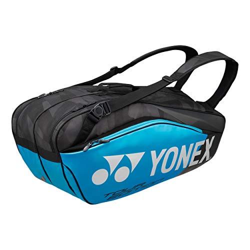 Yonex Thermobag 9826 Schlägertasche mit 2 Hauptfächern für Tennis, Badminton und Squash (blau)