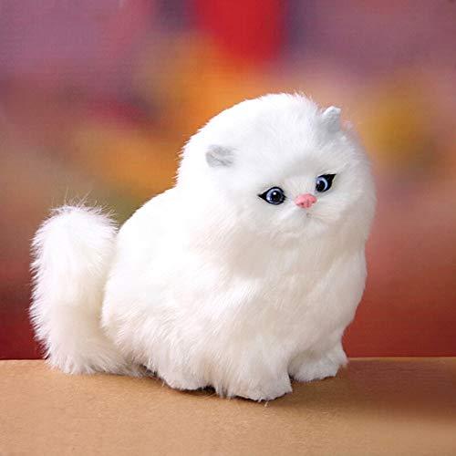 üsch Kätzchen Katze Kinder Nette Haustier Spielzeug Modell Elektrische Gefüllte Katze Puppen Plüschtier Baby Geburtstag Spielzeug Geschenk ()