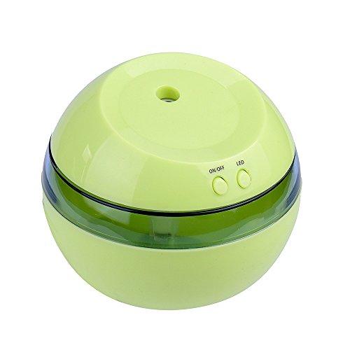 Modaworld LED Essential Oil Diffusor Vernebler Purifier Ultraschall Aroma Diffuser Lufterfrischer, Mini Aroma Diffuser Duftlampe für Bad,Yoga,Zuhause