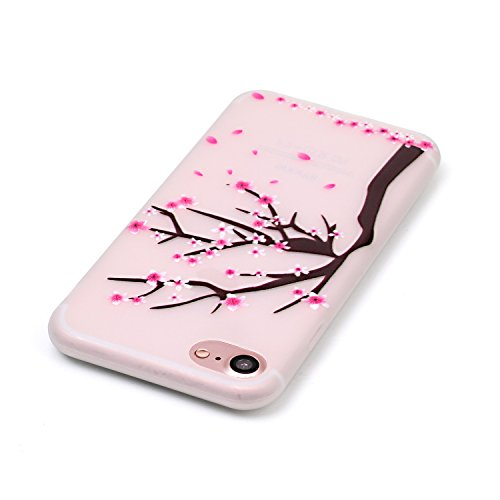 inShang iPhone 7 Hülle 4,7 inch [Transparent iPhone 7 Cover] [Luminous im Dunkeln], Ultra Schlank und leicht TPU Bequem Schutzhülle Rückcover (Back Case) design 23