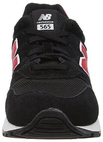 New Balance 565, Scarpe Running Uomo Multicolore (Black 001)