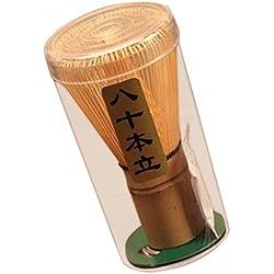 SGerste Bambus-Teebesen, Chasen, für die grüner Tee-Zubereitung, 70 - 75 Besenborsten, für Matchapulver, für die japanische Teezeremonie, auch mit 75 - 80 Besenborsten erhältlich, Bambus, 70-75prongs
