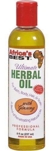 AFRICA'S BEST Ultimate Herbal Oil 8 Oz 240 ml