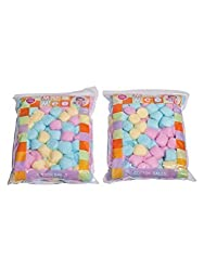 Mee Mee Cotton Balls MM-1433 Multicolor Pack of 2