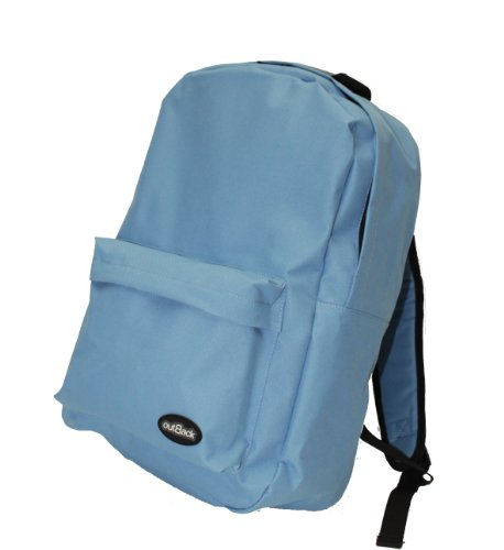 Damen Mädchen Jungen Rucksack College Student Schule Reisetasche (808blau)