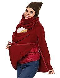 cioler Kängurujacke, Tragejacke,Babytragejacke für Mama, Papa Umstandsjacke Sweatshir tNeugeborene Känguru Jacken Hoodie Freizeitjacke