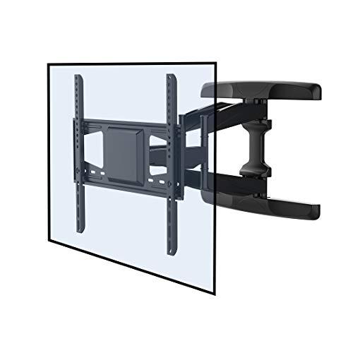 Fleximounts A28 TV Wandhalterung für Flachbildschirme, neigbar, schwenkbar, max. VESA 400x400 bis 90 kg Plasma LCD LED (37-60 Zoll)