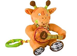 Hochet doudou musical girafe Babymoov