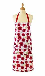 Cooksmart Poppies PVC Apron, Poppies