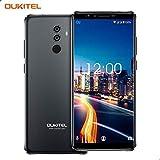 Dual SIM Smartphone ohne Vertrag, OUKITEL K8 Android 8.0 4G Handy 6 Zoll mit 5000 mAh Akku, 4GB RAM+64GB Interner Speicher, 13MP+2.0MP Hauptkamera / 5MP Frontkamera, Octa Core Smartphone