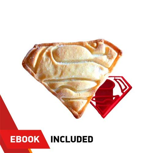 Superhero Cookie Cutter Superman Kunststoff Form für Backen Shortbread und biskuitteig Gebäck Stempel Cupcake Topper Fondant Cutter Cookie-cutter-brownies