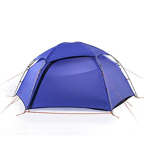 Pang Hu Four Seasons Zelt/Outdoor 2 Personen Zelt/Wasserdicht Wild Mountaineering Camping Doppel Aluminium Zelt,Purple -
