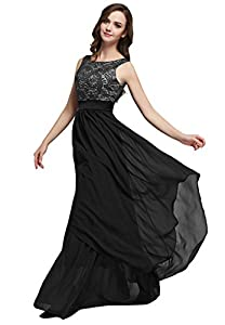 LemonGirl les robes de soirée de longue robe de demoiselle d'honneur