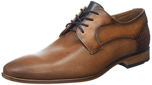 LLOYD Herren Humphrey Derbys, Braun (Brandy/Pacific), 46 EU (Schuhe Handgemachte Leder)