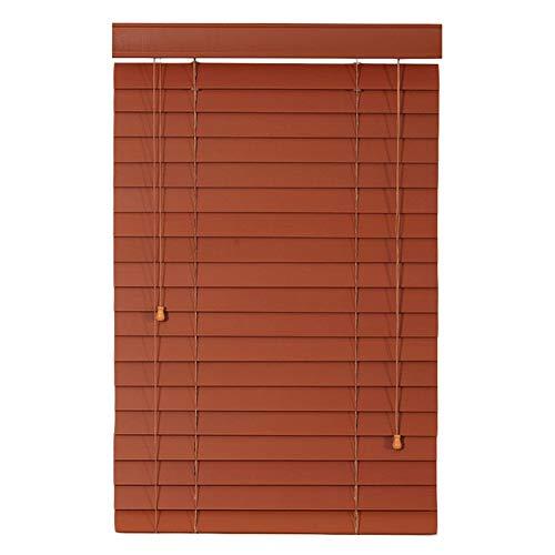 Xiao Jian- Jalousien aus Massivholz Arbeitszimmer Wohnzimmer Fensterläden Fensterläden aus Holz 3 Farbe Multi-Größe Optional Custom Vorhang (Farbe : A, größe : 120x200cm)