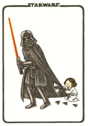 Vader's Little Princess Flexi Journal (Darth Vader and Son) by Jeffrey Brown (2014-05-20)