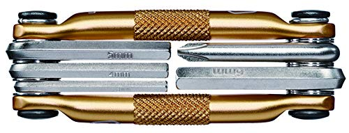 Crank Brothers Multi-5 Tool, Gold (Brothers Crank Multi-tool)